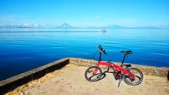Biking in Codon, Catanduanes (edwin.canlapan) Tags: philippines catanduanes dahon codon mayonvolcano mup8