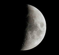 The Moon (Colin__Murray) Tags: sky moon night dark maria satellite sony astro luna crescent craters telescope crater astrophotography astronomy lunar a330 solarsystem seas sonyalpha