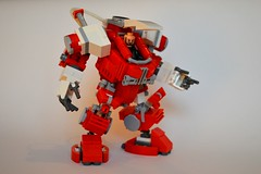 Lego Mech Hardsuit minifig - new feet (legolover22) Tags: robot lego mecha mech hardsuit
