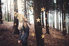 Forest of the Star Dance (hollyrosestones) Tags: wood night forest woodland stars fun gold star dance forrest goddess enjoyment mena tumbridgewells stardaze