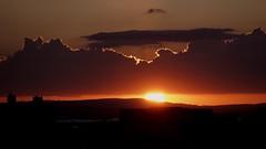 THEBLINK (fabio lf petry) Tags: sunset pordosol orange sun clouds portoalegre explore ocaso poente explored