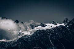Glacier du Tour (Frdric Fossard) Tags: texture nature noiretblanc altitude glacier bleu ciel contraste neige nuage chamonix extrieur 74 couleur moraine alpinisme hautesavoie aiguille srac glacierdutour massifdumontblanc rimaye aiguillesdutour