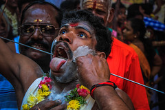 (Hindu Festival) ((NIZHARPADAM)) Tags: people india festival streetphotography international devotional hindu pondicherry roi sedal indianstreetphotography rootsofindia