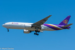 HS-TJW (MarkD Aviation Photography) Tags: thai b772 hstjw