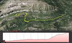 Stairway to Heaven Visual Trail Map (Anne's Travels 4) Tags: map canyon wyoming wilderness tetons stairwaytoheaven grandtetonnationalpark trailmap jedediahsmithwilderness