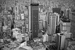Sao Paulo- Centro (elzauer) Tags: city brazil brasil architecture modern skyscraper outdoors day cityscape saopaulo sopaulo horizon citylife nopeople sampa development crowded urbanskyline capitalcities traveldestinations sopaulostate buildingexterior highangleview