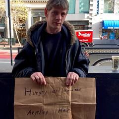 Hungry (vhines200) Tags: sanfrancisco homeless marketstreet panhandler 2016