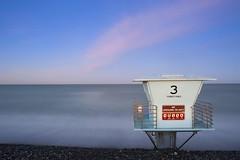 No Lifeguard (gpa.1001) Tags: ocean beach clouds sunrise torreypines lifeguardtower