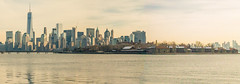 ellis island and freedom tower (Visual Thinking (by Terry McKenna)) Tags: park liberty state nj