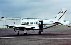 G-NEWR Navajo EAE CVT 23-07-86 (cvtperson) Tags: air piper navajo coventry executive eastern cvt chieftan pa31350 egbe gnewr