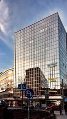 Unterwegs... gestern in Dortmund (peter353) Tags: spiegelung dortmund glas hochhaus
