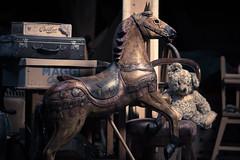 altes Karussellpferd lll (bilderbuech.ch) Tags: old macro loft attic makro pferd dachboden antik carouselhorse staub estrich karussellpferd altesspielzeug antikquitten zeitzeugenantique