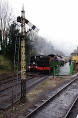 IMGP8402 (Steve Guess) Tags: uk england train engine railway loco hampshire steam gb locomotive bluebell alton 060 ropley alresford hants fourmarks medstead qclass 30541