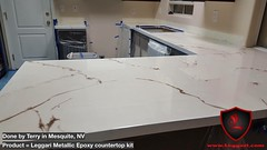 Our #metallic #epoxy #countertop #kits are a huge #success everyone who has bought our #diy #countertops #resurfacing kits #love the outcome without having any experience in #epoxy or #coatings our instructional videos make it easy #leggariproducts (Epoxy Coatings for Countertops and Flooring) Tags: love diy metallic epoxy kits success countertop countertops resurfacing coatings leggariproducts