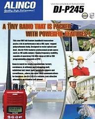 รหัส : ALINCO DJ-P245 ยี่ห้อ : ALINCO รุ่น : DJ-P245 ราคาปกติ :  4,500.00  ราคาพิเศษ :  4,000.00  รายละเอียดย่อ : ALINCO DJ-P245 245MHz Radio เครื่องวิทยุสื่อสารมีทะเบียน NTC ถูกกฎหมาย ย่านความถี่CB 245 MHz กำลังส่ง 5 วัตต์  สนใจติดต่อ คุณสันท้าย เรืองสุข