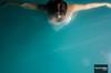 Carla de la Cruz (.Alejandro Rubio.) Tags: blue woman water argentina azul swimming de la agua san underwater christ juan cyan piscina cruz cristo dali nadando topview celeste picado alerubio bajoelagua bucenado