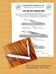 Mellon knife (MarkGregory007) Tags: ulster pocketknife ulsterknife mellonknife