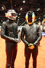 Daft Punk (Leckless) Tags: punk cosplay daft comicon c2e2