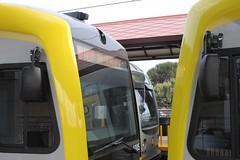 P3010 (Kinkisharyo) and P2550 (AnsaldoBreda) Cabs (Oran Viriyincy) Tags: train lacmta lrv kinkisharyo ansaldobreda