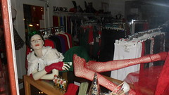 Hot Happy New Year (912greens) Tags: christmas windows mannequins porttownsend newyears stores advertisements