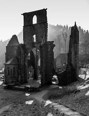 DSC_7769-2 (klingp (instagram)) Tags: allemagne couvent noirblanc ruines abbaye badenwrttemberg oppenau
