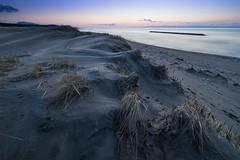 Vanilla twilight time (ILCE-7M2 + SEL1635Z) (tadanori.inoue) Tags: sunset sea seascape beach japan landscape coast twilight sony niigata carlzeiss sel1635z ilce7m2