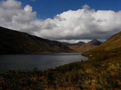 Shower clouds over  Silent Valley (billpolley) Tags: silentvalley slievemeelmore showerclouds