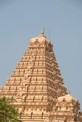 South Indian Style Gopuram (VinayakH) Tags: india religious temple delhi hindu hinduism chattarpur katyayani