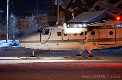 Stephen M. Fochuk C-FATO Night Time (Stephen M. Fochuk) Tags: winter ice night action nwt northwestterritories twinotter airtindi twotter nikond4 cfato northernaviation