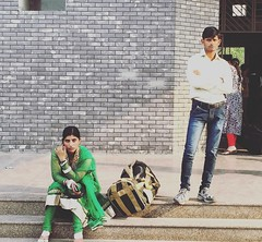 The Perfect Portrait of a Joint Bank Account (Mayank Austen Soofi) Tags: portrait perfect couple delhi bank account joint the a walal