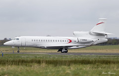 Dassault Aviation Falcon 8X F-WWQC (birrlad) Tags: ireland private airplane demo airport tour taxi aircraft aviation airplanes jet landing international shannon prototype falcon passenger arrival landed arriving dassault taxiway bizjet snn 8x fa8x fwwqc