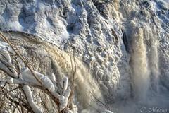 160327-04 Close-Up (clamato39) Tags: ice nature water eau waterfalls glace chutes rivirechaudire chutesdelachaudiere