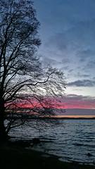 PIC_20160322_184954 (Sharkomat) Tags: see sonnenuntergang sony himmel wolken z z3 rendsburg eckernförde compact schleswigholstein norddeutschland exmor z3c wittensee xperia bünsdorf