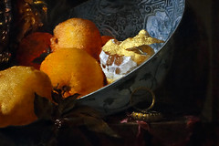Kalf, Still Life with a Silver Jug (detail)