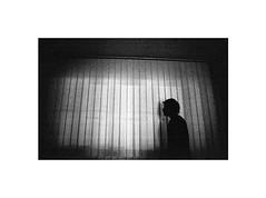 silence (Marek Pupk) Tags: blackandwhite white black classic film monochrome night analog 35mm canon photography eos photo nikon europe image central picture whitebackground xp2 silence slovakia coolscan bianco ilford nero bianconero silhuette canona2 whiteborder duetone canon5