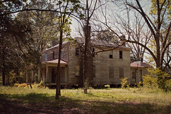 (History Rambler) Tags: old house abandoned home rural decay south northcarolina historic forgotten plantation lonely greekrevival