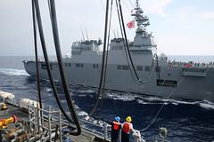 160419-N-IX266-040 (U.S. Pacific Fleet) Tags: drew ise ras atsea anzac replenishment stockdale mscfe usnscharlesdrew ctf73 militarysealiftcommandfareast