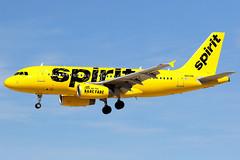 Spirit Airlines | Airbus A319 | N503NK | Las Vegas McCarran (Dennis HKG) Tags: las plane canon airplane airport lasvegas spirit aircraft 7d airbus klas nk a319 planespotting spiritairlines 100400 airbusa319 nks n503nk