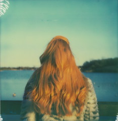 (Leanne Surfleet) Tags: portrait colour film nature girl polaroid sx70 expired impossibleproject leannesurfleet
