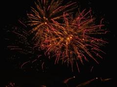 Fireworks Scharnhausen Esslingen  8 km distance (eagle1effi) Tags: nightlights nightshot fireworks pov tripod distance esslingen sterne feuerwerk 8km longexposur flammende filderstadt bonlanden ostfildern sx60
