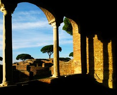 Archival Footage Of Only The Lost And Forgotten (Isabelle de Touchet) Tags: italy rome archaeology architecture ruins arch columns ostia architettura romanempire romans ostiaantica rovine romani archeologia trifora domusdelninfeo isabelledetouchet houseofthenympheum