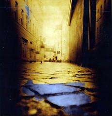 Analogica printed (Claudio Taras) Tags: bw 6x6 film mediumformat claudio biancoenero trier taras streetshot ngs acido contrasto fomapan citrico eukobrom agfapaper selentoned