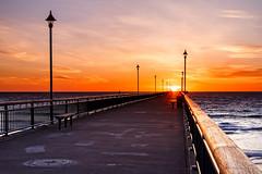Sunrise at the Pier (TerminalCityNZ) Tags: newzealand christchurch sunrise canterbury nz newbrighton canoneos6d