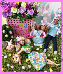 Happy Easter 2016 (HollysDollys) Tags: family flowers flower rabbit bunny fairytale easter toy toys blog stacie doll dolls princess toystory egg emma ken barbie rocky ella disney holly story shelly eggs kelly cinderella ruby dolly fashiondoll diorama disneystore dollies happyfamily dollie 2016 dollys disneydoll toystories fashiondolls cinderelladoll playscale dollstories dollstory disneydolls hollysdollys easter2016 elladisneydoll ellatheworldaccordingtoadisneydoll wwwhollysdollyscouk