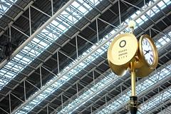 Clock (EyeEm teruw0) Tags: street roof clock station architecture citylife lookingup fujifilm japon giappone nofilter takingphotos japao japonia mirrorless ourbestpics 時空の広場 fujifilmxseries fujixa1 thepuristnoedit eyeembestshots