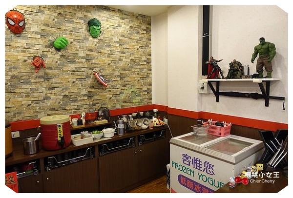 南機場夜市火鍋 好客涮涮鍋 英雄主題 親子餐廳
