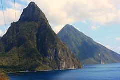 "Pitons ""Saint Lucia"" Caribbean (Lonfunguy) Tags: unesco pitons saintlucia"