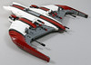 S27 Buzzard Starfighter (MaverickDengo) Tags: infantry robot ship lego space military helicopter walker futuristic speeder mech hovercraft drone defenses starfighter