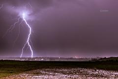 Orage - Storm (cleostan) Tags: storm france night ngc ciel le nuit orage auvergne clermont sud sy puydedme cendre supershot cournon orcet