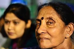 Chitra [Stranger # 09 / 100] (s) Tags: portrait india headshot kolkata bengal calcutta streetshot chitra schoolteacher kalighat nikon50mmf18d 100strangers nikond7000 thehumanfamily